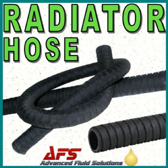 Radiator Water Coolant Hose Heater Flexible EPDM Rubber Pipe Convoluted